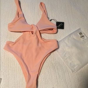 NWT Cut-Out one piece swimsuit